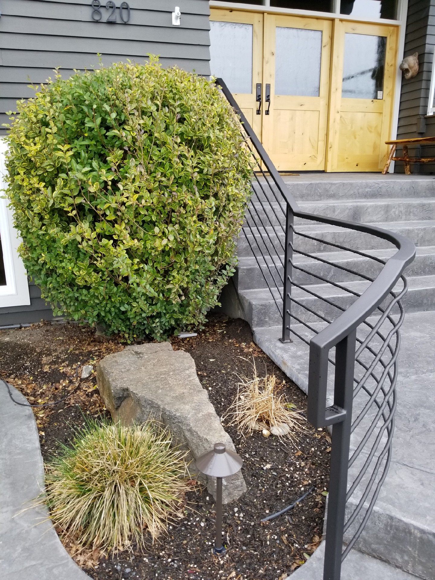 Hand rail Horazontal pickets
